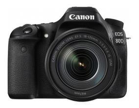 Câmera Canon Eos 80d 18-135mm Is Usm Pronta Entrega