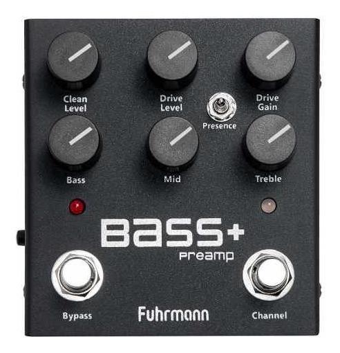 Pedal Fuhrmann Bass + Pre Amp Contra Baixo