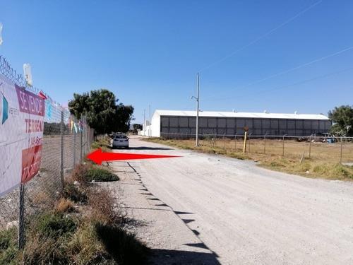 Se Vende Terreno 1348 M2 Zona Industrial La Reforma Pachuca