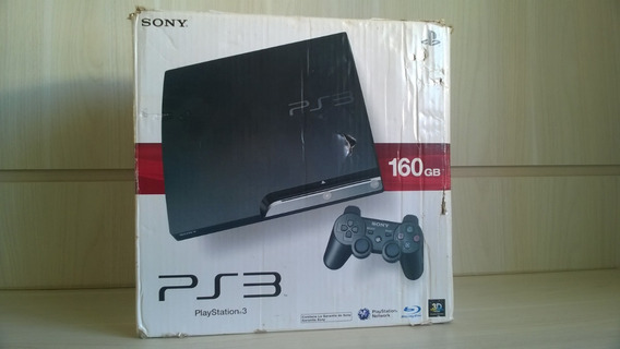 Caixa Playstation 3 Original Peça De Colecionador 100%
