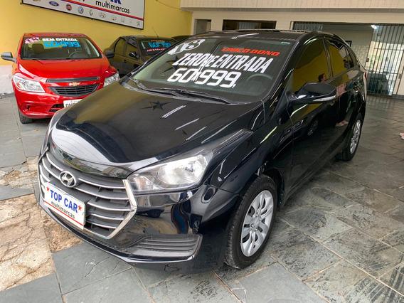 Hyundai Hb20s 1.0 Comfort Plus Flex 2018 Sem Entrada