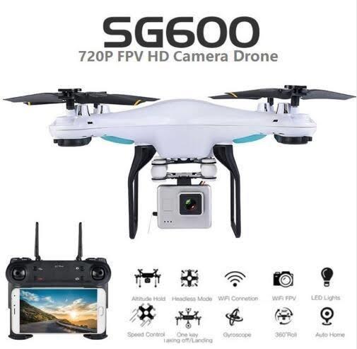 Drone Sg600 Com Câmera Wifi , Fácil Para Iniciantes