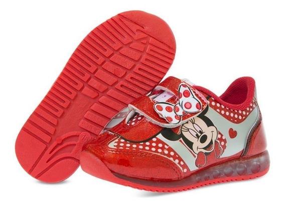 Tenis Rojos Minnie Mouse Talla 17