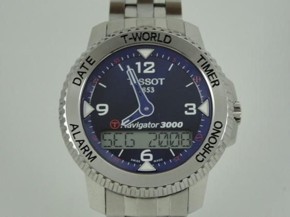 Relógio Tissot Navigator 3000 - T96.1.488.42 - T-touch