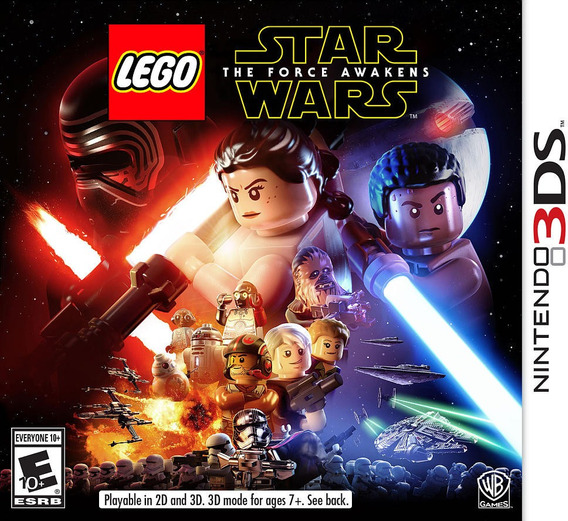 Nintendo 3ds - Lego Star Wars The Force Awakens