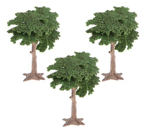 Imagen 1 de 5 de 10 X Miniatura Árbol De Pisaje Para Decoración Casa De