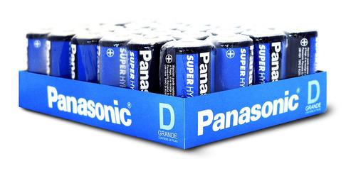 Imagen 1 de 1 de Pila Convencional D Panasonic 24 Unidades