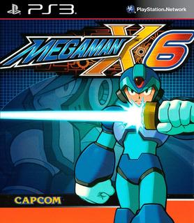 Mega Man X6 Ps3 Digital Gcp
