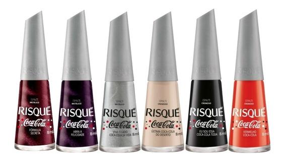 Risque Coleção Coca-cola C/6