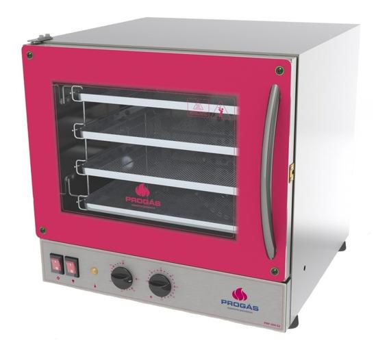 Forno Inox Eletrico Industrial Progás Para Pizza 4 Assadeira
