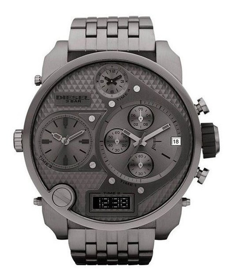 Relógio Diesel Masculino Mr Daddy 2.0 Chumbo Idz7247/z