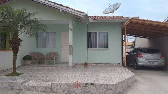 Casa Em Condomínio Fechado 370 Mil Camboriú/ Sc - 556-1
