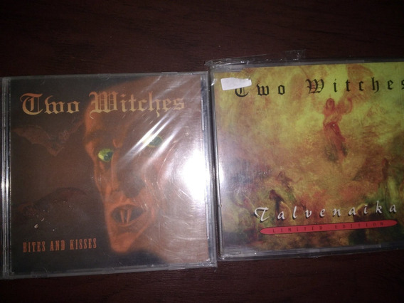 Lote Two Witches X 2 Cd - Germany Gothic / Dark - Kotin