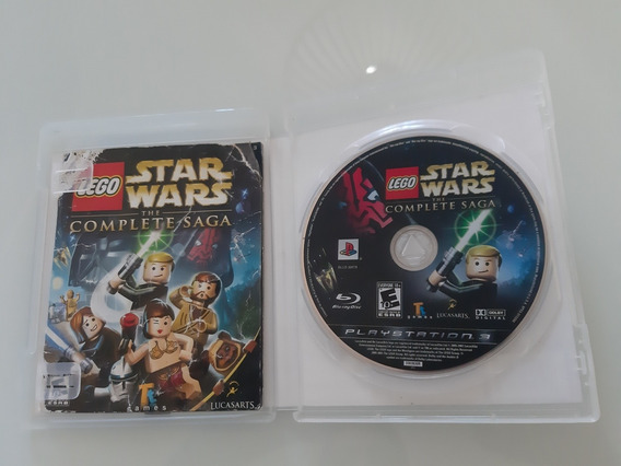 Lego Star Wars The Complete Saga Ps3 Midia Fisica