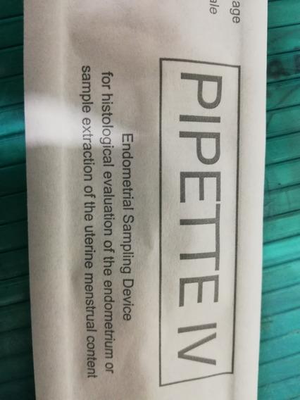 Cánula De Pipelle O Pipette Para Biopsia