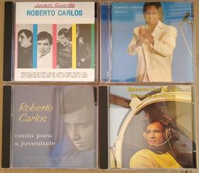 Kit 4 Cds Roberto Carlos