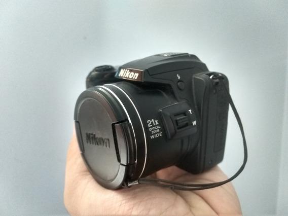 Camera Fotográfica Nikon Coolpix L120 Usada
