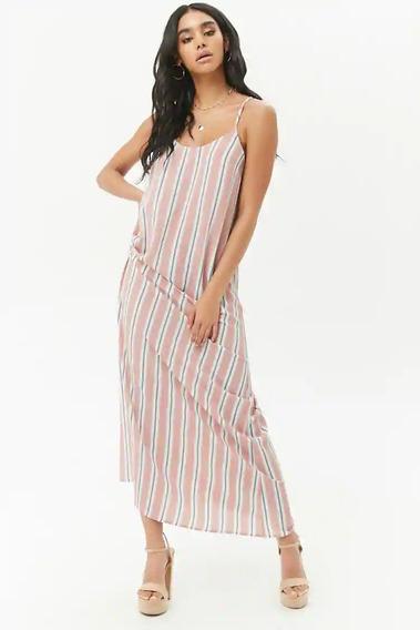Maxi Vestido Mujer Forever 21 Nuevo Importado Tipo Rapsodia