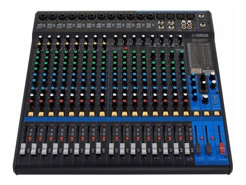 Yamaha Mg20-xu Consola Mixer Sonido 20 Canales Efectos Mg20xu