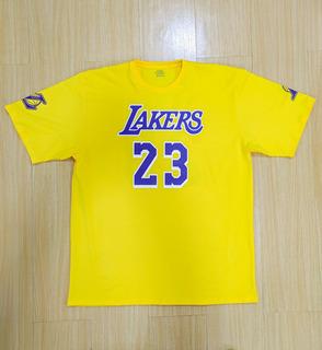 Remera Los Angeles Lakers Lebron James Basquet