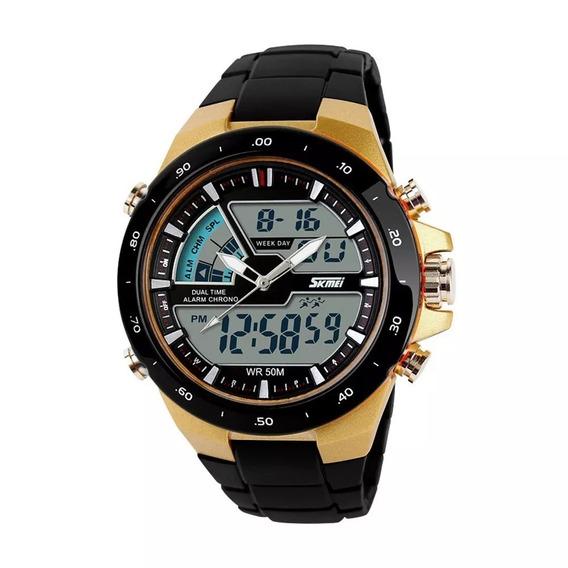 Relógio Masculino 1016 Skmei Barato Esporte Resistente Água