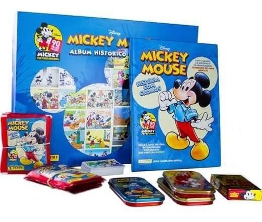 Box Premium Álbum De Figurinhas Mickey 90 Anos - Panini
