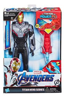 Muñeco Iron Man Hasbro E3298 Avengers Titan Hero Power 30 Cm