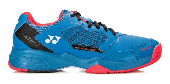 Tênis Yonex Power Cushion Lumio 2 All Court Azul Vermelho