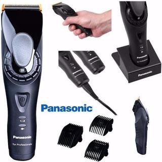 Cortadora Profesional Panasonic Recargable Er Gp80 Con Base. Peladora Pelo Rapadora Cabello - Garantia Oficial - Gp 80