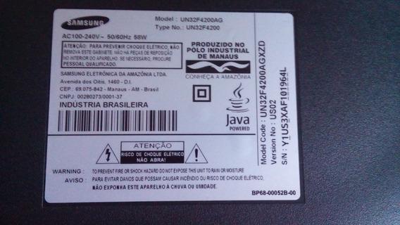 Tv Samsung Com Defeito Na Tela(trincado) P/ Retirar Peças