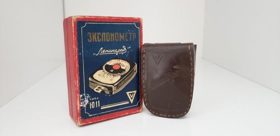Fotometro Russo Leningrad Antigo Na Caixa Original