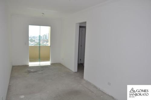 Apartamento Para A Venda No Bairro Paraíso Em Santo André - Sp . - Ap01260 - 69363982