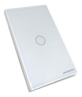 Interruptor Smart Touch Led 1 Botão Wi-fi Rf433 Alexa Google