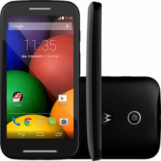 Moto E Xt1021 4gb 1 Chip Single 3g Preto Novo-vitrine