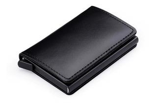 Carteira Minimalista Com Porta Cédulas E Cartões Ultra Fina
