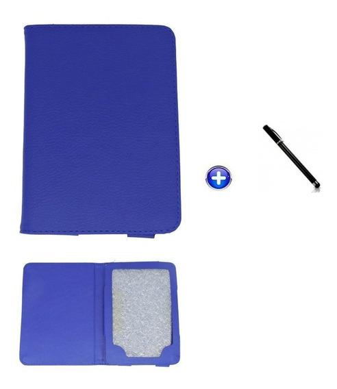 Capa E-reader Kindle 6 Magnético / Controlestouch (azul)