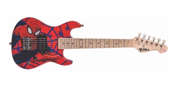 Guitarra Infantil Homem Aranha Marvel Kids Spider Man Phx