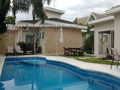 Terras De São Carlos, Casa Térrea! 4 Suite, Permuta Apartamento. - 93872 - 4491938