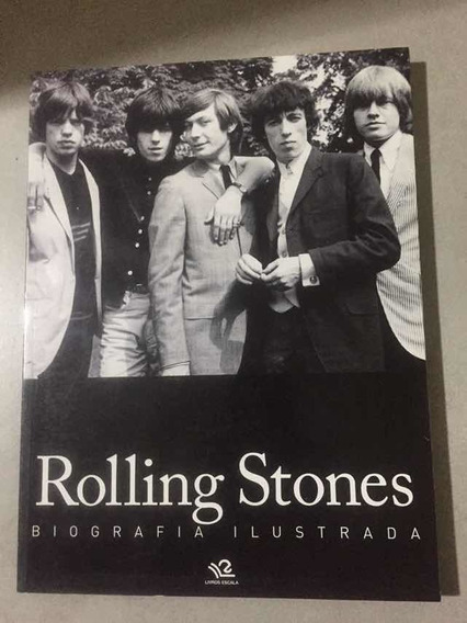 Livro Rolling Stones Biografia Ilustrada, Novo,raridade