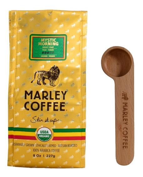 Café Marley Coffee Molido 227g + Spoon Clip