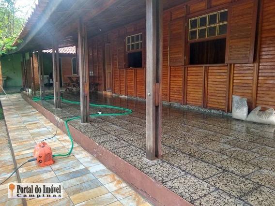 Chácara Com 4 Dormitórios À Venda, 270 M² Por R$ 265.000 - Chácaras Recreio Campestre - Santo Antônio De Posse - Ch0006