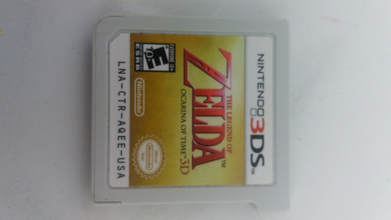 Nintendo 3ds - Zelda - Ocarina Of Time !