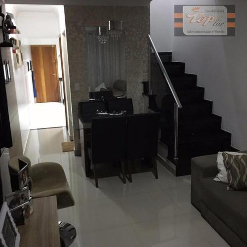 Sobrado Com 3 Dormitórios À Venda, 125 M² Por R$ 580.000 - Vila Nossa Senhora Do Retiro - São Paulo/sp - So0404