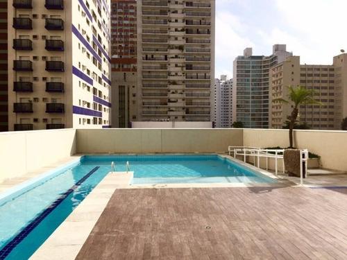 Apartamento Residencial À Venda, Praia Das Pitangueiras, Guarujá. - Ap3259 - 34709936