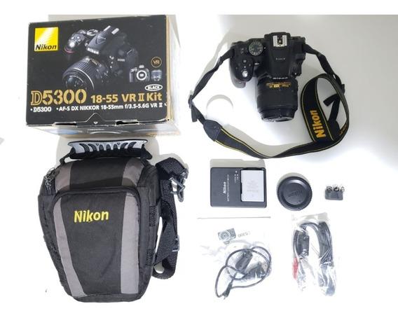 Camera Nikon D5300 + Lentes 18-55