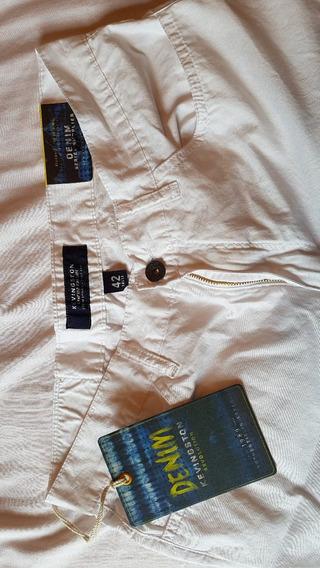Pantalon Jean Kevingston Talle 42 Blanco