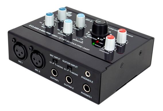 Interface De Áudio Arcano Ot-2 Usb Pre-amp Alta Qualidade