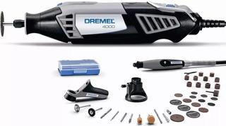 Mini Torno Dremel 4000 + 36 Acc. + 2 Aditamentos + Flexible