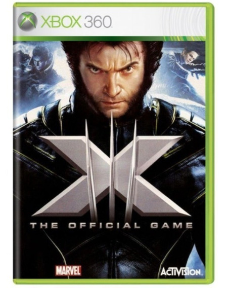 X-men: The Official Game Xbox 360 Original