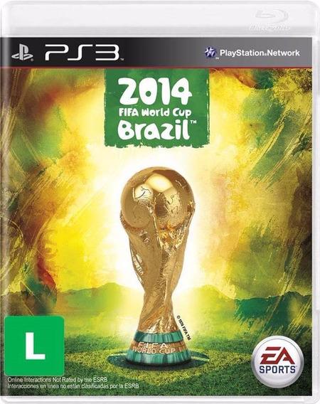 Jogo Copa Do Mundo Fifa Brasil 2014 (ps3) Usado